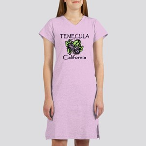Temecula Grapes Women's Nightshirt