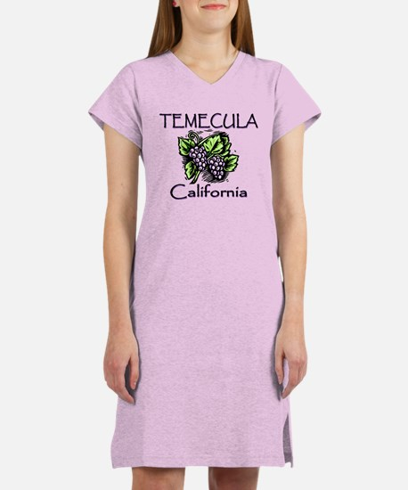 Temecula Grapes Women's Nightshirt