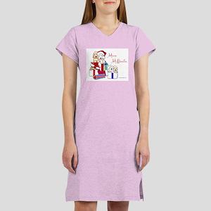 Merry McDoodles Women's Nightshirt