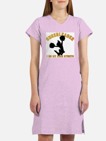 Funny Cheerleader Women's Nightshirt