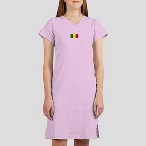 senegal flag Women's Nightshirt