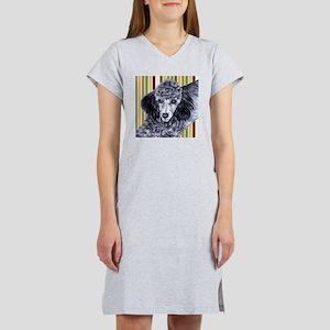 Penciled Poodle Women's Nightshirt