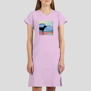 Coonhound Mountains Women's Nightshirt