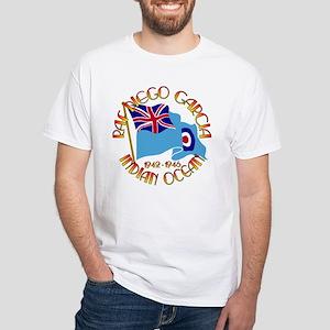 RAF Diego Garcia White T-Shirt