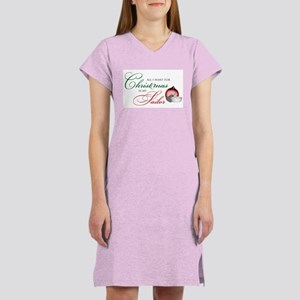 All I want for Christmas - NA Women's Nightshirt