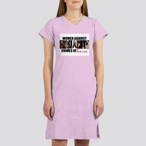 Women Against Crimes of Honor Nightshirt (white)