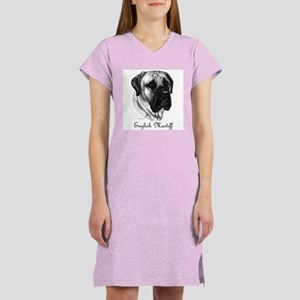 English Mastiff Women's Nightshirt