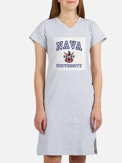 NAVA University Women's Pink Nightshirt