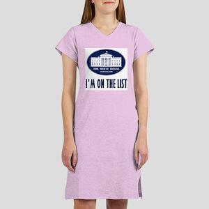 I'm on the List Women's Nightshirt