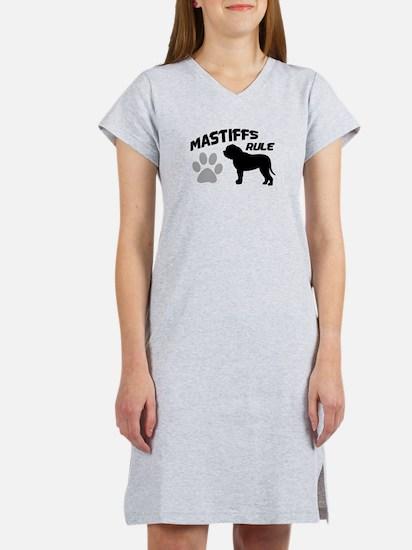 Mastiffs Rule Women's Nightshirt