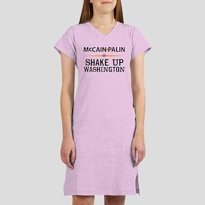 Shake Up Washington Women's Nightshirt