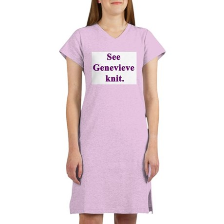 Genevieve Knits Women's Nightshirt