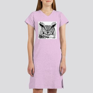 Horned Owl Women's Nightshirt