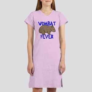 Wombat Fever II Women's Nightshirt