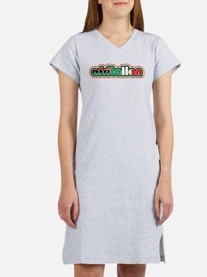 Afritalian Women's Nightshirt
