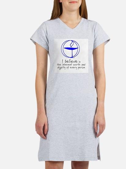 Inherent worth and dignity Women's Nightshirt