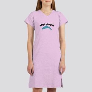 Adopt a Dolphin Women's Nightshirt