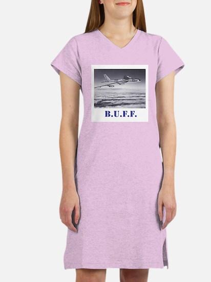 B-52 in flight: BUFF Women's Nightshirt