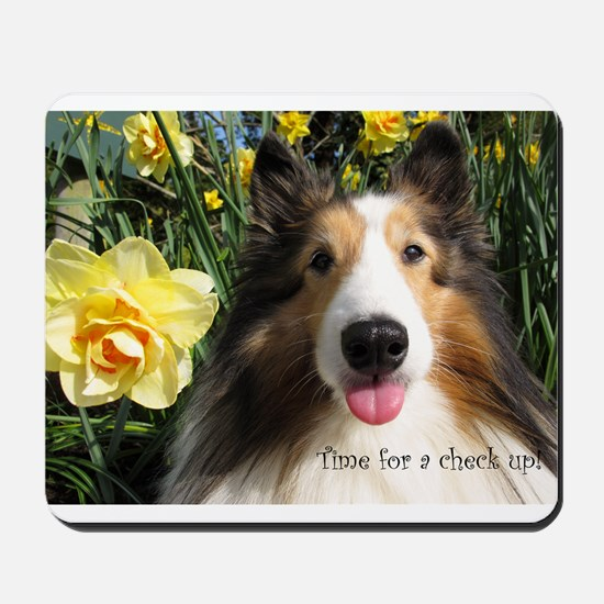 Time for a check up! Mousepad