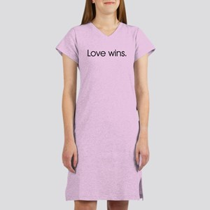 Love wins Women's Nightshirt