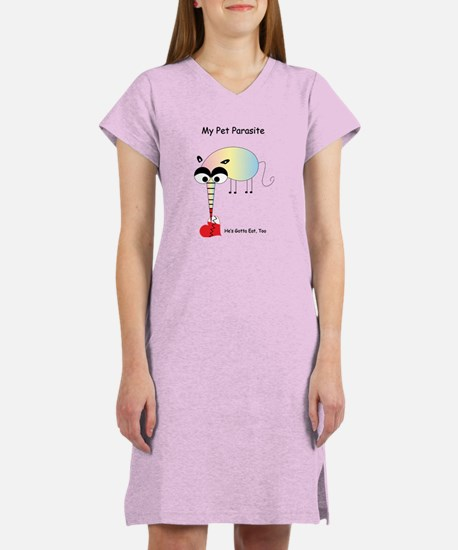 My Pet Parasite Women's Nightshirt