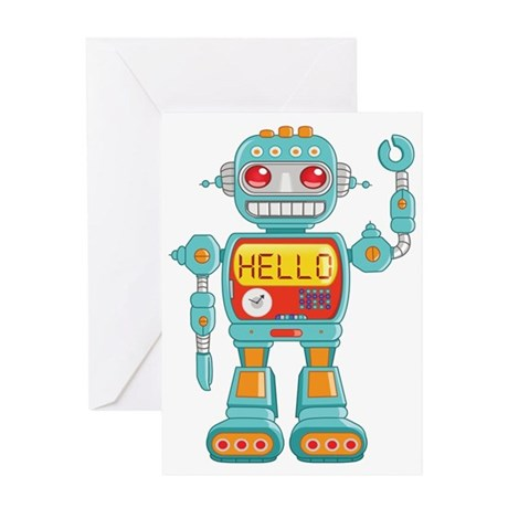 Hello Robot Greeting Card