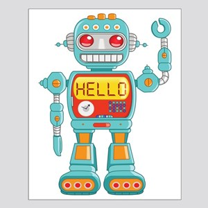 Hello Robot Small Poster