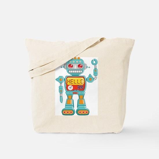 Hello Robot Tote Bag