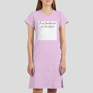 I eat flashbacks Women's Nightshirt