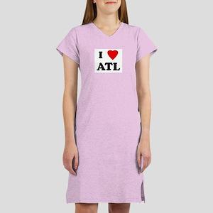 I Love ATL Women's Nightshirt