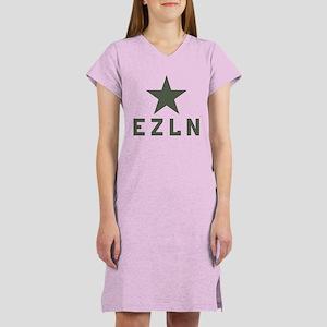 EZLN Zapatista Women's Nightshirt