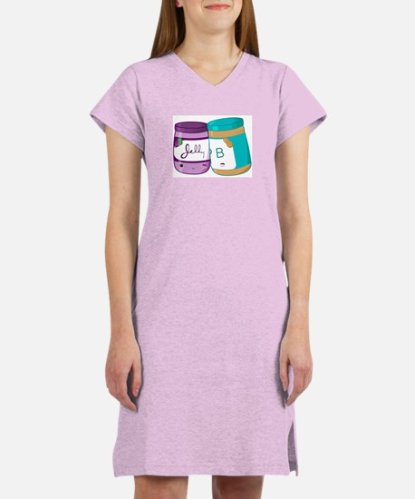 Peanut Butter and Jelly Love Women's Nightshirt
