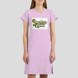 Snake Girl Women's Pink Nightshirt