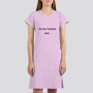 Teacher Women's Nightshirt