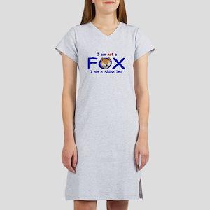 I am not a fox I am a shiba I Women's Light Nights