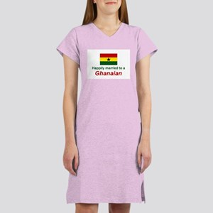 Happily Married To Ghanaian Women's Nightshirt
