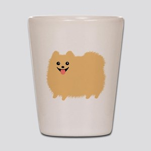 Pomeranian Shot Glass