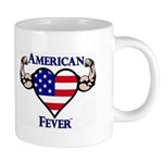 American Fever Strong Heart 20 oz Ceramic Mega Mug