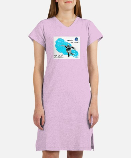 Leatherback Turtle Women's Nightshirt