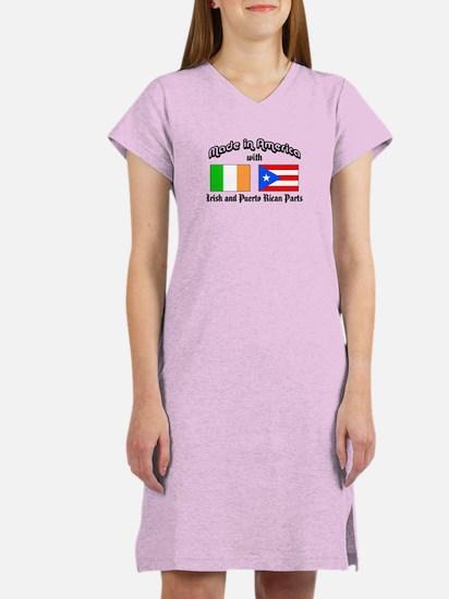 Irish-Puerto Rican Women's Nightshirt