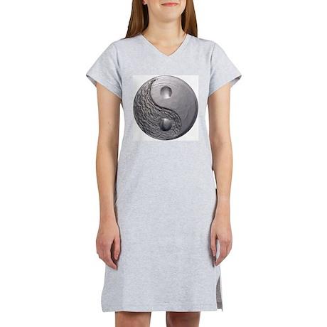 Yin Yang Tao Optic Women's Nightshirt