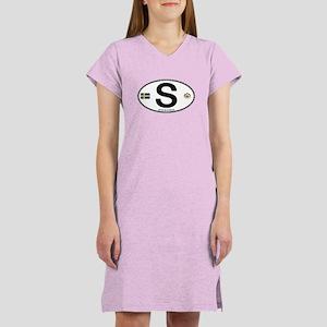 Sweden Euro-style Code Women's Nightshirt