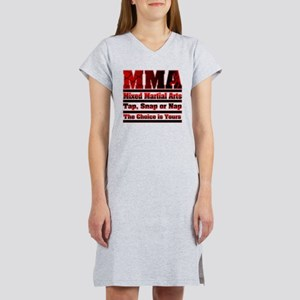 MMA Mixed Martial Arts - 3 Women's Nightshirt