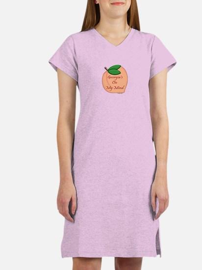 Georgia Minded Peach Women's Nightshirt
