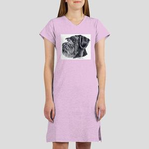 Giant Schnauzer Women's Nightshirt
