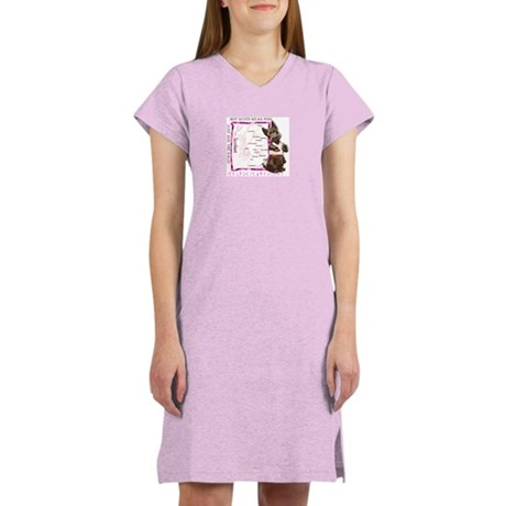 Hot Scots Wear Pink Women's Nightshirt