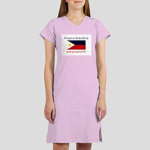 Proud Filipino Grandma Women's Nightshirt