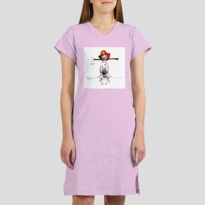 Dalmatian-Firema's Dog Women's Nightshirt