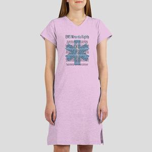 EMS Miranda Rights Women's Nightshirt