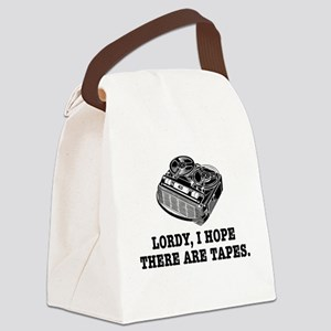 Lordy I Hope There Are Tapes Canvas Lunch Bag